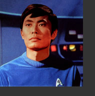 Sulu from Star Trek